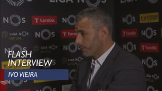 Liga (9ª): Flash interview Ivo Vieira