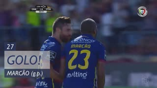 GOLO! GD Chaves, Marcão aos 27', GD Chaves 1-0 Portimonense