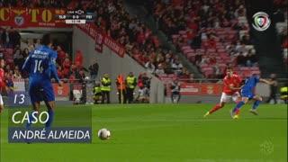 SL Benfica, Caso, André Almeida aos 13'