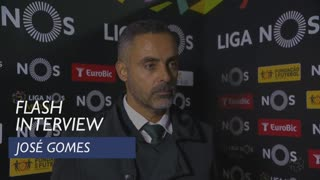 Liga (11ª): Flash interview José Gomes