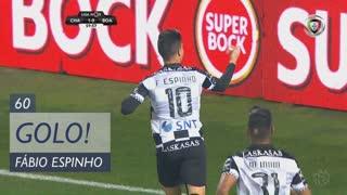 GOLO! Boavista FC, Fábio Espinho aos 60', GD Chaves 1-1 Boavista FC