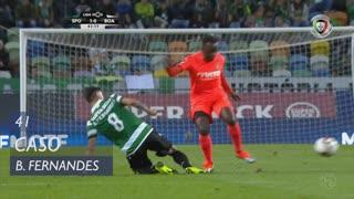 Sporting CP, Caso, Bruno Fernandes aos 41'