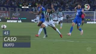 Vitória FC, Caso, Berto aos 45'