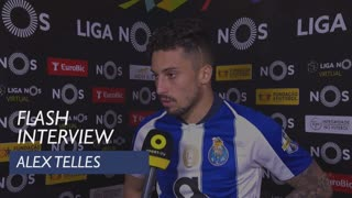 Liga (26ª): Flash Interview Alex Telles