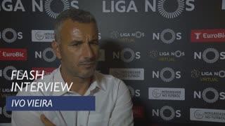 Liga (4ª): Flash interview Ivo Vieira