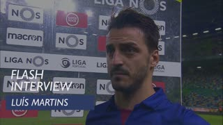 Liga (10ª): Flash interview Luís Martins