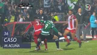 Sporting CP, Caso, M. Acuña aos 36'