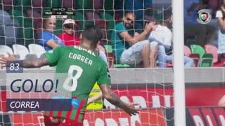 GOLO! Marítimo M., Correa aos 83', Marítimo M. 2-0 CD Tondela