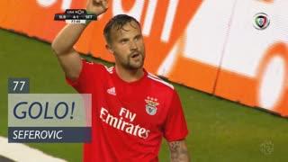 GOLO! SL Benfica, Seferovic aos 77', SL Benfica 4-1 Vitória FC
