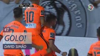 GOLO! Boavista FC, David Simão aos 47', Portimonense 0-1 Boavista FC