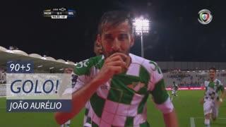 GOLO! Moreirense FC, João Aurélio aos 90'+5', Moreirense FC 1-1 Belenenses