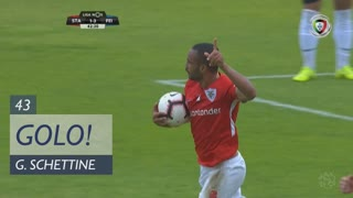 GOLO! Santa Clara, Guilherme Schettine aos 43', Santa Clara 2-3 CD Feirense