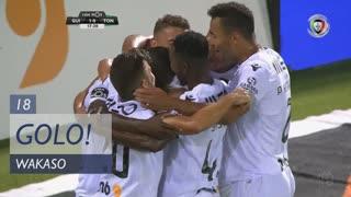 GOLO! Vitória SC, Wakaso aos 18', Vitória SC 1-0 CD Tondela
