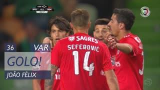 GOLO! SL Benfica, João Félix aos 36', Sporting CP 0-2 SL Benfica