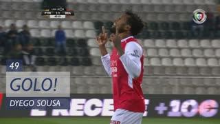 GOLO! SC Braga, Dyego Sousa aos 49', Portimonense 1-1 SC Braga