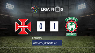 Liga NOS (22ªJ): Resumo Os Belenenses 0-1 Marítimo M.
