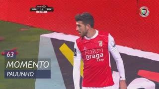SC Braga, Jogada, Paulinho aos 63'