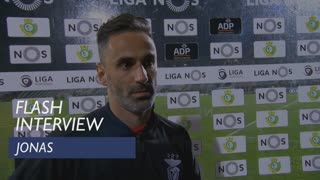 Liga (12ª): Flash interview Jonas