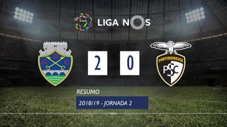 Liga NOS (2ªJ): Resumo GD Chaves 2-0 Portimonense
