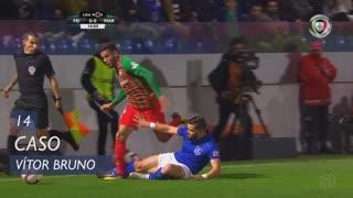 CD Feirense, Caso, Vítor Bruno aos 14'