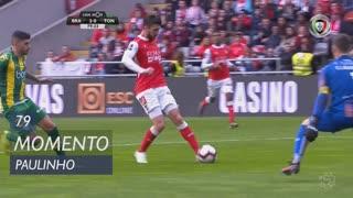 SC Braga, Jogada, Paulinho aos 79'