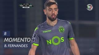 Sporting CP, Jogada, Bruno Fernandes aos 8'