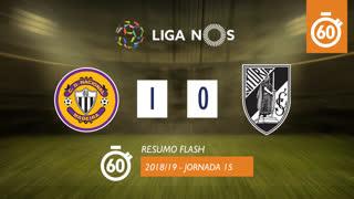 Liga NOS (15ªJ): Resumo Flash CD Nacional 1-0 Vitória SC