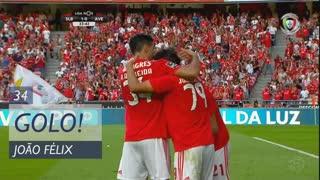GOLO! SL Benfica, João Félix aos 34', SL Benfica 1-0 CD Aves
