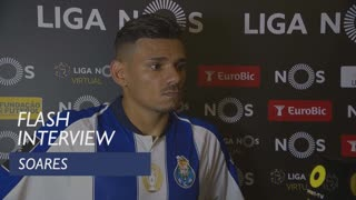 Liga (10ª): Flash interview Soares