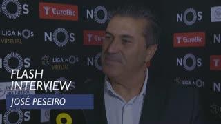 Liga (6ª): Flash interview José Peseiro