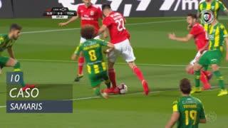 SL Benfica, Caso, Samaris aos 10'