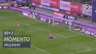 SC Braga, Jogada, Paulinho aos 90'+3'