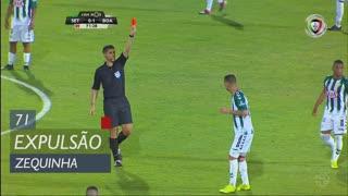 Vitória FC, Expulsão, Zequinha aos 71'