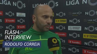Liga (23ª): Flash Interview Rodolfo Correia