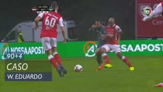 SC Braga, Caso, Wilson Eduardo aos 90'+4'