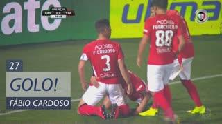 GOLO! Santa Clara, Fábio Cardoso aos 27', Rio Ave FC 0-1 Santa Clara