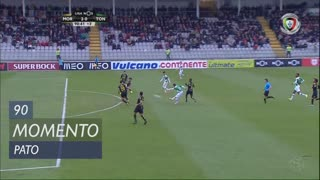 Moreirense FC, Jogada, Pato aos 90'