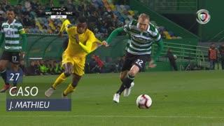 Sporting CP, Caso, J. Mathieu aos 27'