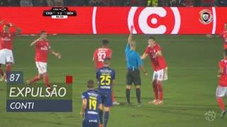 SL Benfica, Expulsão, Conti aos 87'