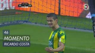 CD Tondela, Jogada, Ricardo Costa aos 45'+1'