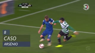 Moreirense FC, Caso, Arsénio aos 8'