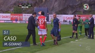 SC Braga, Caso, Marcelo Goiano aos 51'