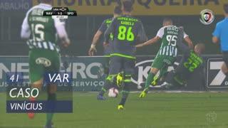 Rio Ave FC, Caso, Vinícius aos 41'