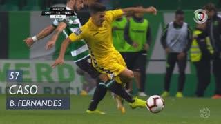 Sporting CP, Caso, Bruno Fernandes aos 57'
