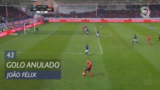 SL Benfica, Golo Anulado, João Félix aos 43'