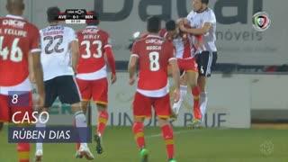 SL Benfica, Caso, Rúben Dias aos 8'