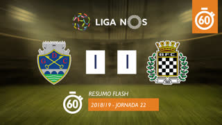 Liga NOS (22ªJ): Resumo Flash GD Chaves 1-1 Boavista FC