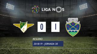 Liga NOS (30ªJ): Resumo Moreirense FC 0-1 GD Chaves