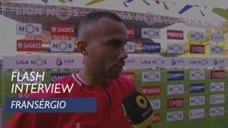 Liga (31ª): Flash Interview Fransérgio