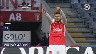 GOLO! SC Braga, Bruno Xadas aos 12', SC Braga 1-0 Portimonense